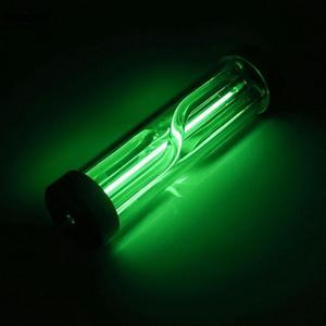 Image 5 - VODOOL 17cm G1/4 Computer Water Cooling System Styling LED Lights PC Cylinder Water Cooling Tank Virus Reservoir LED Light Lamp