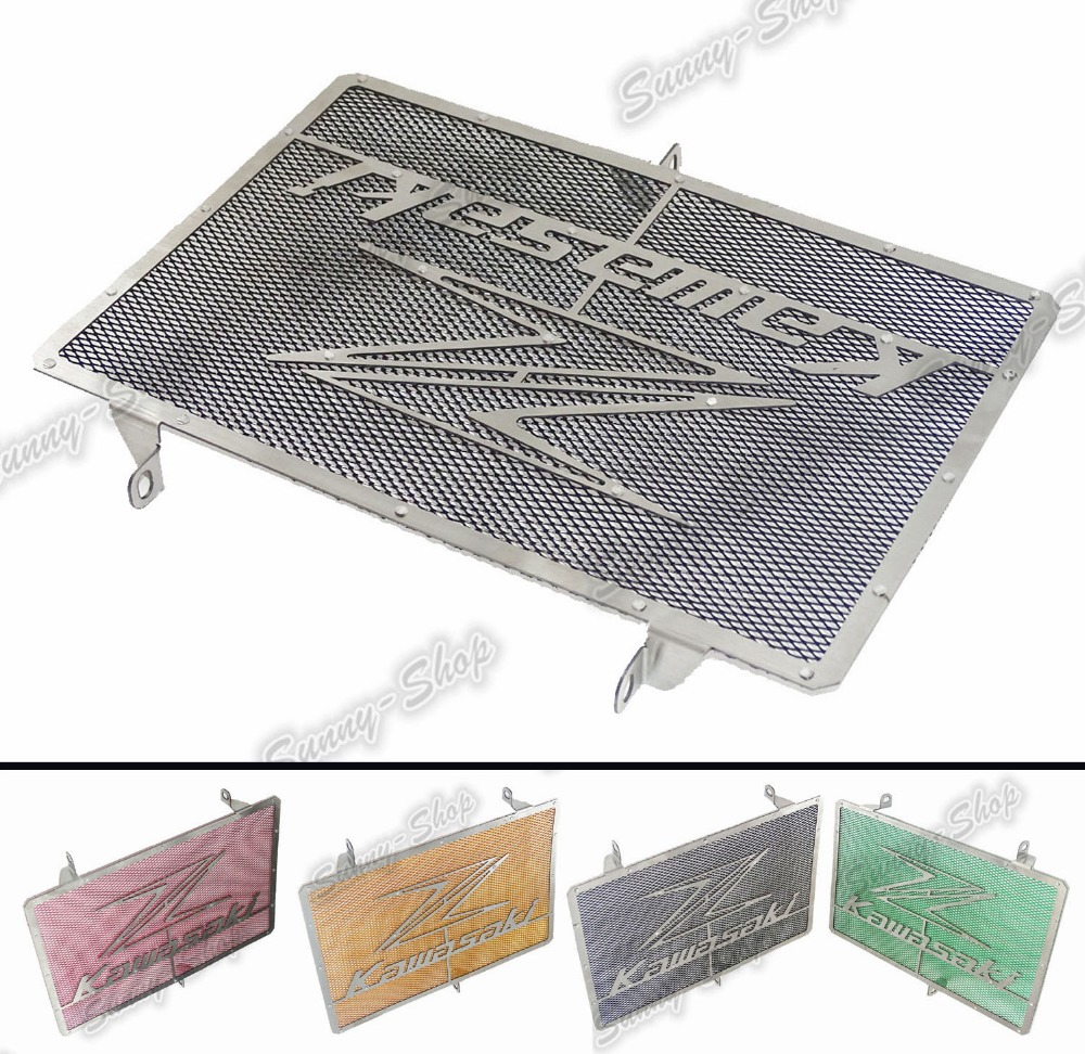 waase Radiator Protective Cover Grill Guard Grille Protector For Kawasaki Z750 Z1000 2007 2008 2009 2010 2011 2012 2013-2016 motorcycle stainless steel radiator guard protector grille grill cover for kawasaki z750 2010 2011 2012 2013 2014 2015 2016