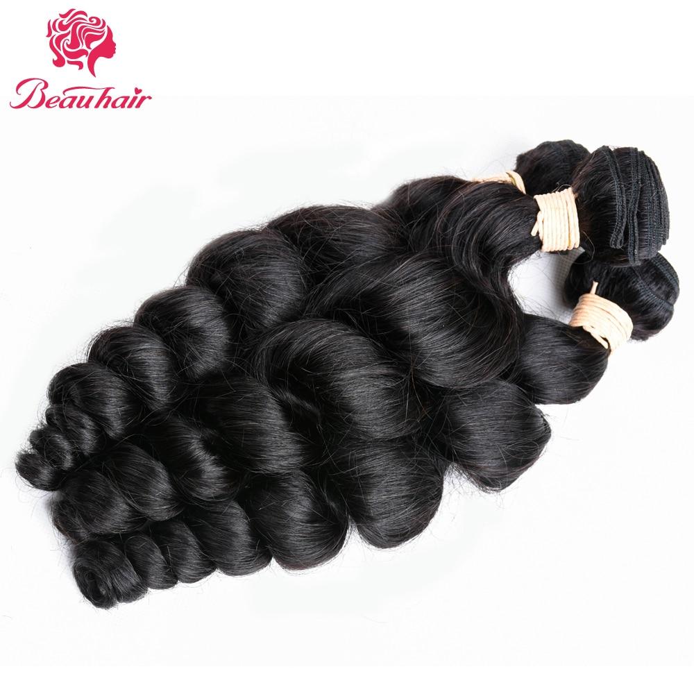 Beau Loose Curly Hair Malajziai Szőrt Varrócsomagok - Szépség és egészség - Fénykép 3