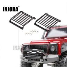 2 шт. TRX4 металлическая передняя фара, защитная решетка для 1/10 RC гусеничная машина Traxxas TRX-4