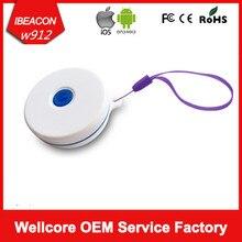 Бесплатная доставка! Bluetooth iBeacon тег NRF51822 BLE 4.0 Маяк UUID программируемый iBeacon