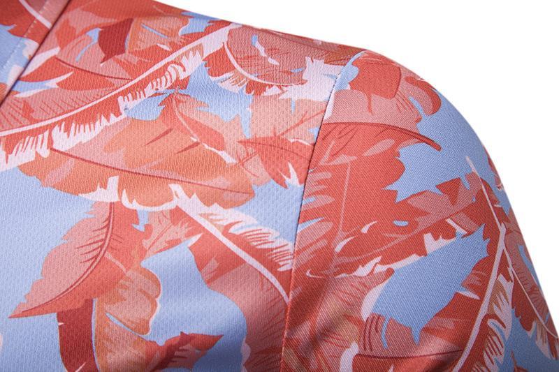 Tees Summer Blusas Short sleeves Floral print Polo Shirt Men New Hawaiian Men Polo Shirt Men 39 s Clothing Tops in Polo from Men 39 s Clothing