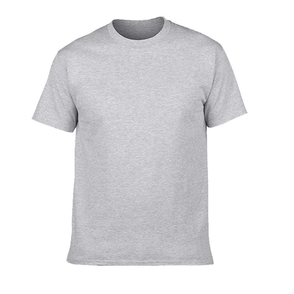GILDAN, брендовая пустая футболка, мужские футболки с коротким рукавом, одноцветные, 100% хлопок, Homme, футболка, 3XL, летняя мужская одежда размера плюс