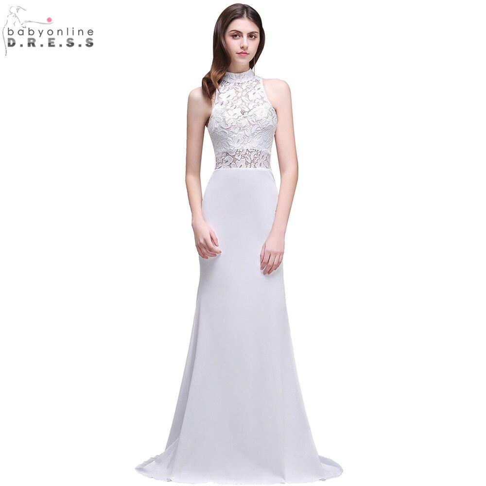 Robe De Mariage Sexy Sheer Lace Mermaid Boho Wedding Dress