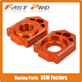 CNC Rear Chain Adjuster Axle Block For KTM SX SX-F XC XC-F EXC EXC-F XC-W XCF-W 85 125 150 300 350 450 530 SX85 EXC250 EXC300