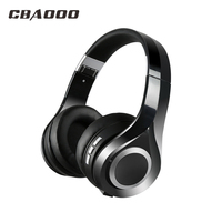 CBAOOO Bluetooth Headphones With Microphone Sport WirelessHeadset Bluetooth For Iphone Samsung Xiaomi Headphone