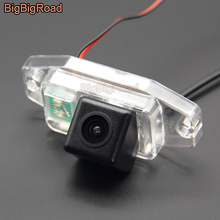 цена на BigBigRoad Car Rear View Camera For Toyota Land Cruiser 120 150 seires 2002 2003 2004 2005 2006 2007 2008 2009  Prado 2700 4000