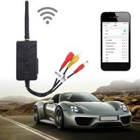 Car WiFi Camera Transmitter AV Interface Video Rearview System For IPhone 6/7/X Plug IPad Android Phone Wireless Transmitter