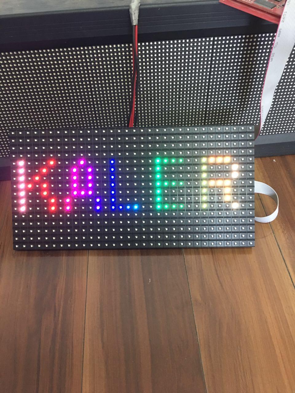 kaler outdoor 320*160mm 32*16pixels 3in1 SMD 1/4 scan RGB P10 full color LED module panel for Advertising media sign LED Display
