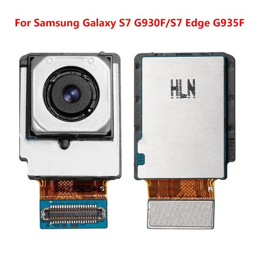 Alta Qualidade Substituição Câmera Traseira Para Samsung Galaxy S7 borda G935F Rear Big Câmera Principal Módulos Flex Cable para Samsung s7edge