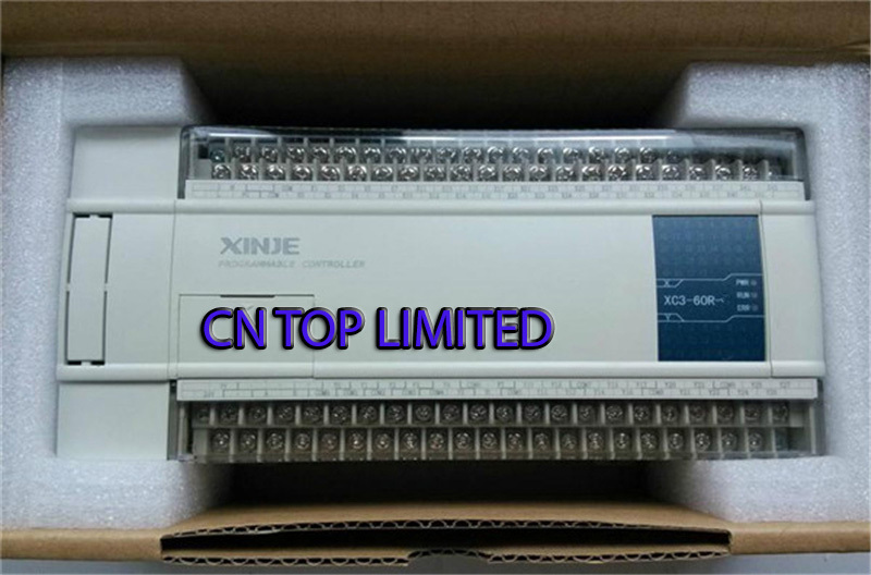 XC3-60R-C XINJE PLC CPU DC24V 36 DI NPN 24 DO Relay  with  programming cable & software New  цены