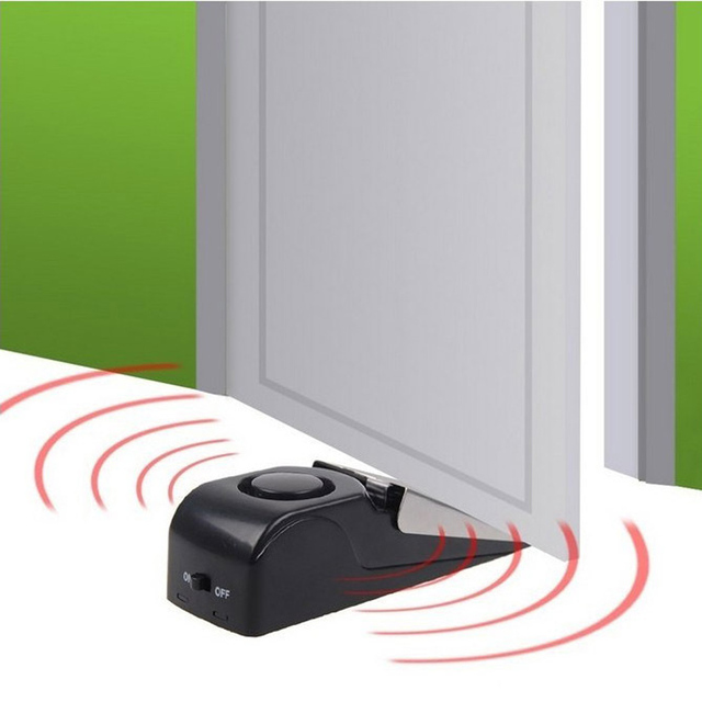 5pcs 120dB Door Stop Alarm System Wireless Home Wedge Shaped Door Stopper Home/Indoor Security  sc 1 st  AliExpress.com & 5pcs 120dB Door Stop Alarm System Wireless Home Wedge Shaped Door ...