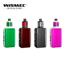 WISMEC SINUOUS V200 Kit with Amor NSE Tank Output 200W in 1.3 ohm WS04 MTL/0.27ohm WS-M Coil 3ml Capacity E-Cigarette vape kit
