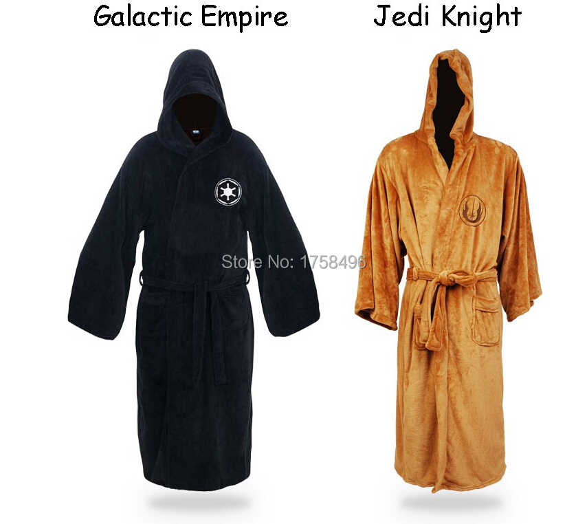 Star Wars Darth Vader Jedi Bath Robe Anakin Skywalker Knight Robes Cape Adult Albornoz Spalna oblačila Halloween Cosplay Kostume