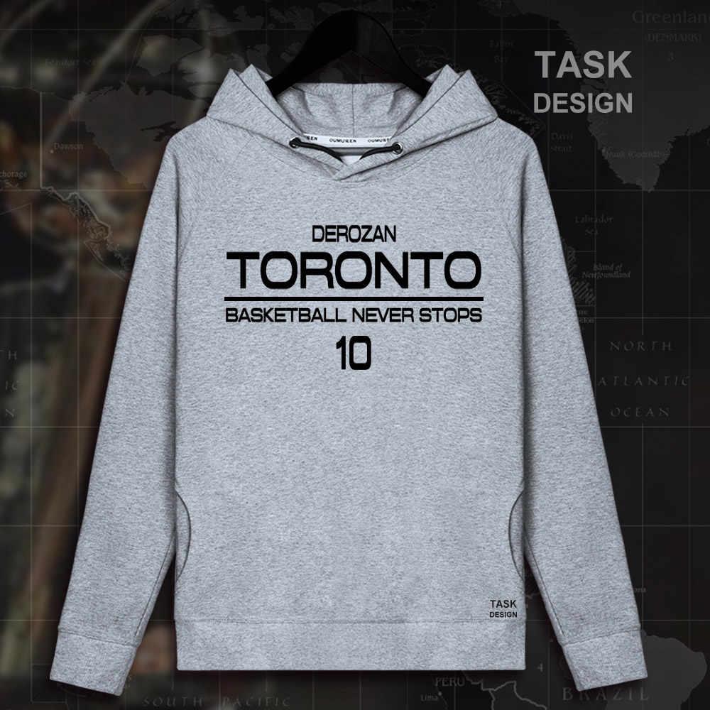 b0233c90d0a ... Demar DeRozan Toronto NO.10 USA basketballer star pullovers hoodies  sweatshirt Raptors clothes sportswear streetwear ...