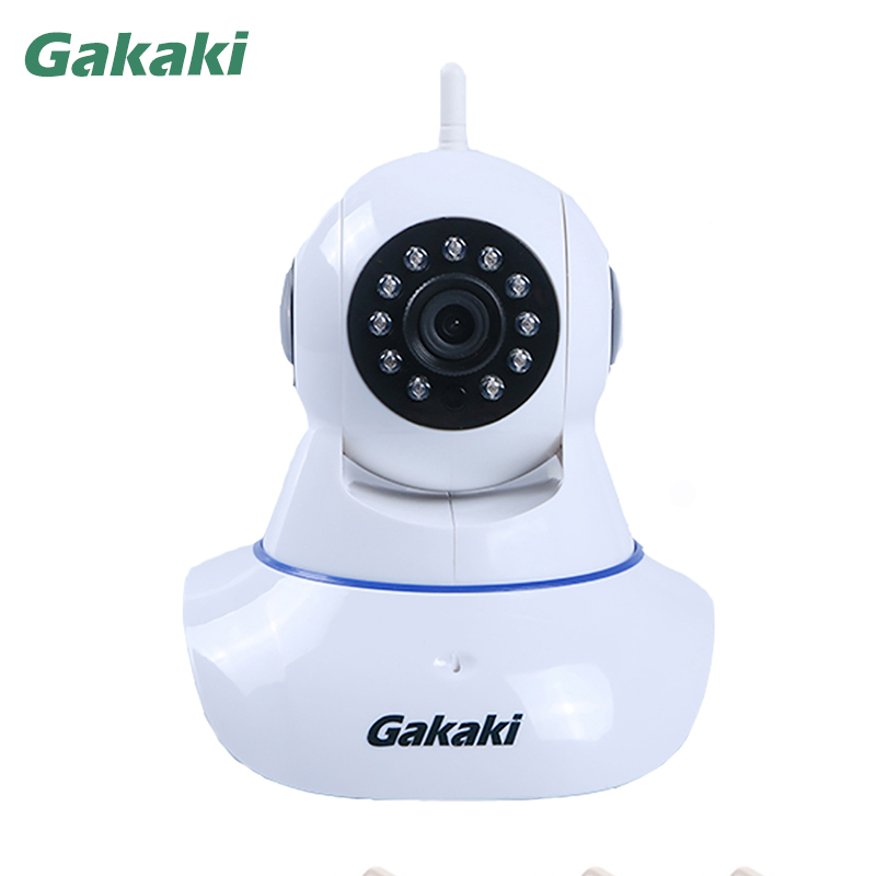 Gakaki HD 960P Wireless IP Camera Network Baby Monitor Smart Security CCTV Indoor Home Protection Mobile Remote Cam Audio Record 2017 new gift with uv lamp remote control lcd display automatic vacuum cleaner iclebo arte and smart camera baby pet monitor
