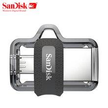 Original Sandisk SDDD3 Extreme high speed 150M/S PenDrive 32GB OTG USB3.0 128GB Dual OTG USB Flash Drive 64GB Pen Drive 16GB