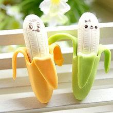 Gommes Style Fruit banane adorables 2 pièces, papeterie scolaire pour élèves, nouvelles fournitures scolaires