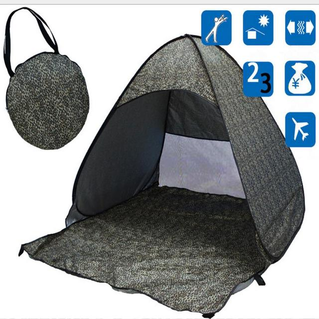 VILEAD 190T Polyester Fabric Full Automatic Camping Beach Tent UV Protection Free Fast Opening Outdoor 1-2 Persons Portable Tent