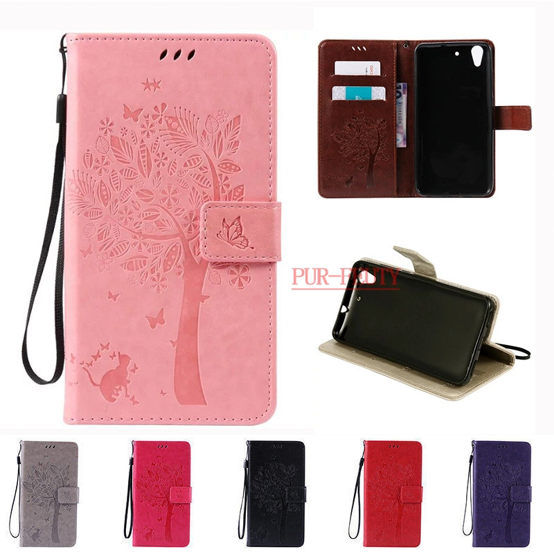 Huawei Y6ii Y6 ii 2 CAM-AL00 Y 6ii Y 6 II CAM-UL00 Y6 2nd Gen 00H Wallet PU Leather Case Huawei Y6 II Y6II 2 5.5 Protective Case