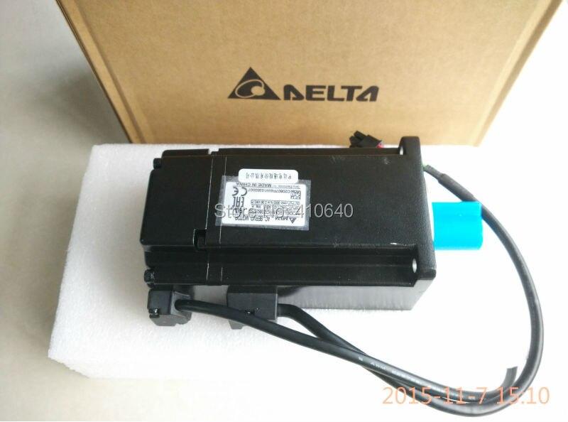 Genuine Delta AC Servo Motor ECMA-C20807RS with 750W power 220V voltage and 3000 rpm speed 80mm frame Better Quality new original ecma c20807rs 220v 750w 2 39nm 3000rpm ac servo motor with oil seal