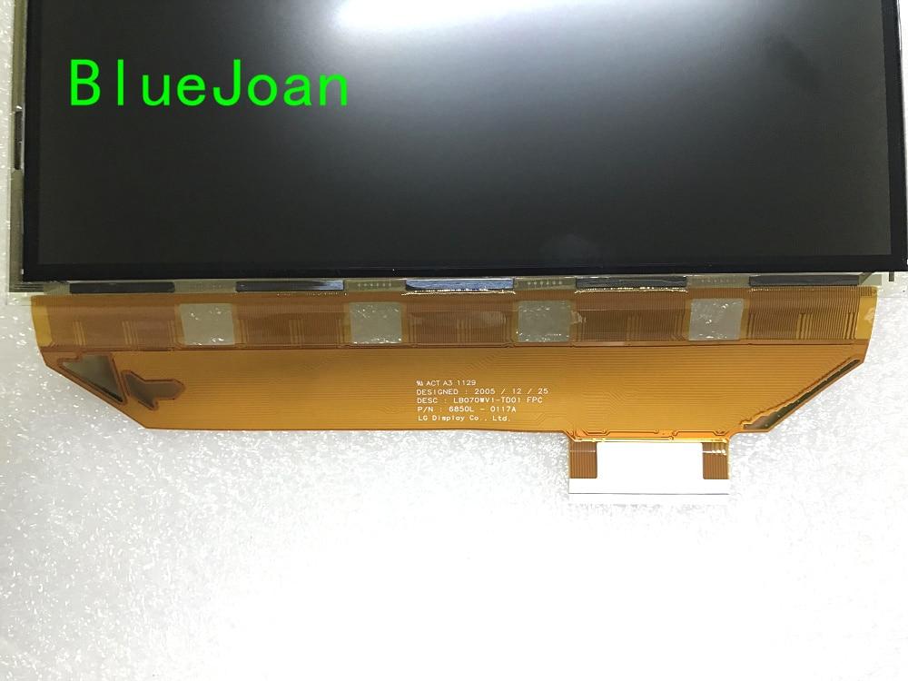 Nuevo Pantalla LCD Panel LB070WV1-TD01 LB070WV1-TD17 Mercedes Benz W204 GLK Coche GPS
