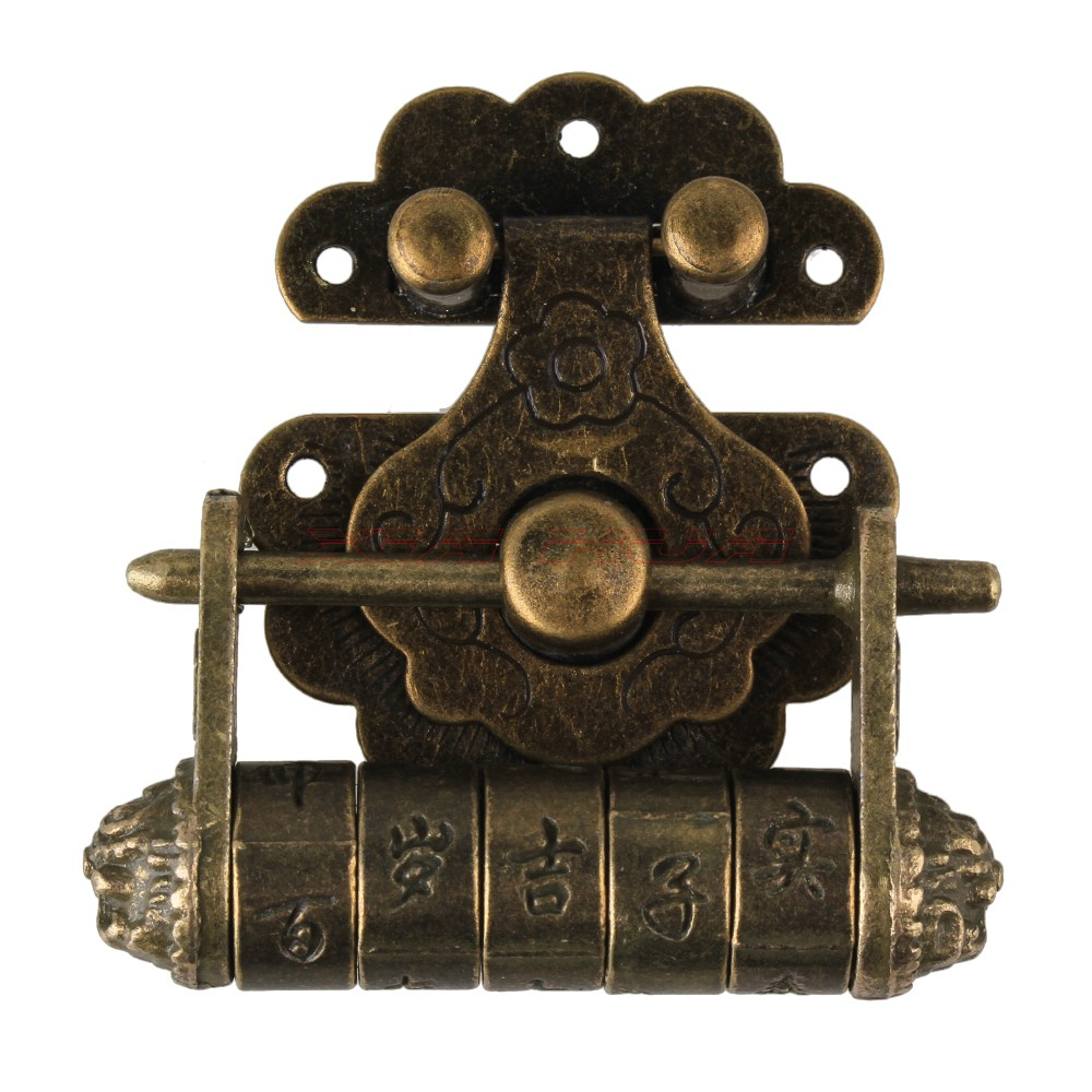 1set Zinc Alloy Antique Chinese Old Style Lock Jewelry