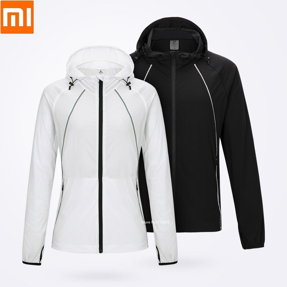 Xiaomi ULEEMARK Sunscreen Skin Clothing Man Woman Anti-UV Light And Breathable Reflective Summer Sun Protection Clothing