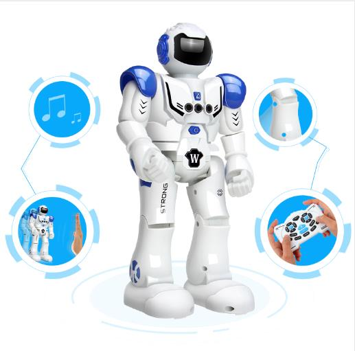 DODOELEPHANT Robot USB Charging Dancing Gesture Action Figure Control RC Robot Toy for Boys Children Kids Birthday Gift Present free shipping genuine joy toy 1 27 action figure robot military soldier set a birthday present simple packaging