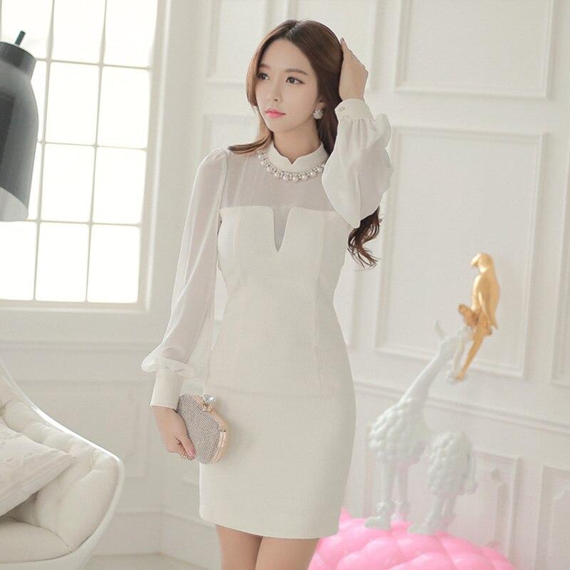 Vestido de verano, para mujer vestidos blancos elegantes