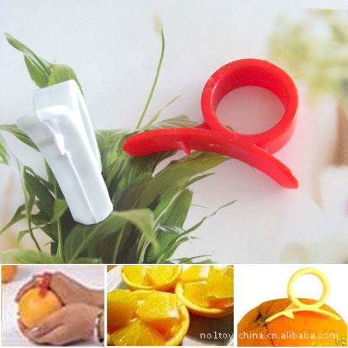 Snail orange peel ers pen orange device Barker  Creative home mouse device open