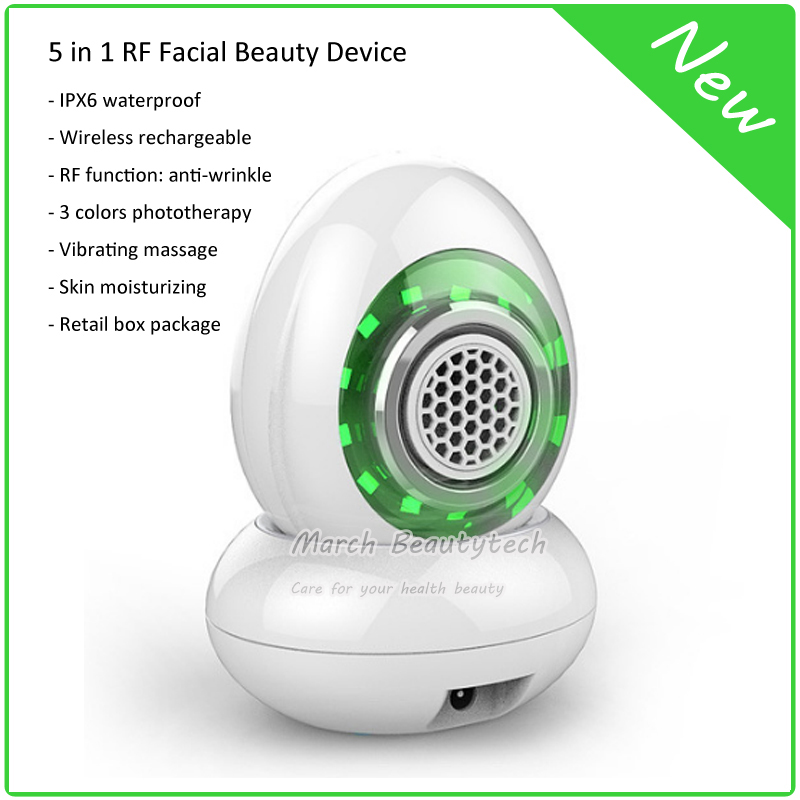 The Best RF Radio Frequency Face Lift Anti-wrinkle Photon Skin Rejuvenation Ultrasonic Massage Galvanic Ion Facial Beauty Device home use rf radio frequency facial rejuvenation ems face lift skin tightening lifting wrinkle removal led photon beauty device