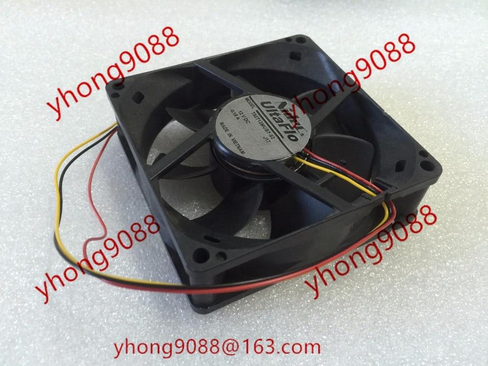 Nidec T80T12MUB7-52 J17 DC 12V 0.19A 80x80x25mm Server Square fan sanyo 9s0812p4f051 dc 12v 0 13a 4 pin 80x80x25mm server square fan