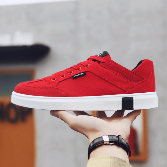 Spring canvas shoes, fashion versatile white shoes, lightweight and comfortable casual shoes,Sneakers