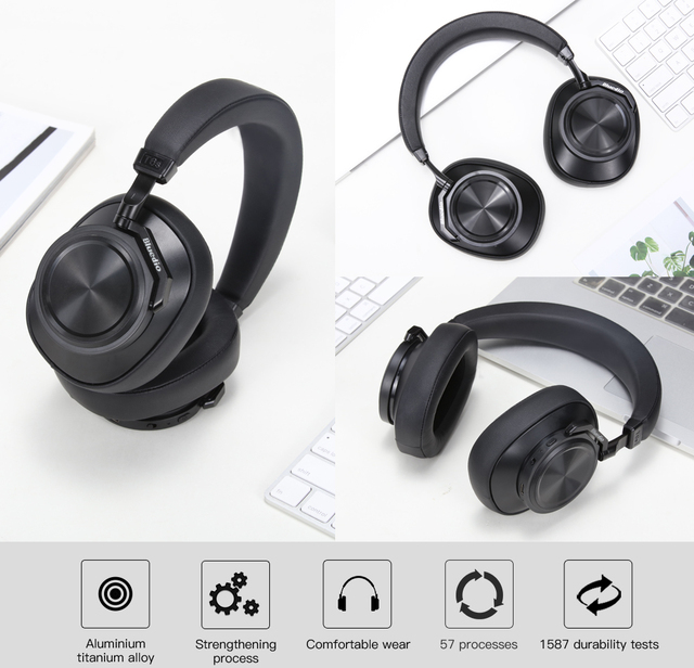 Smart Motion Sensor Voice Control Wireless Headphones