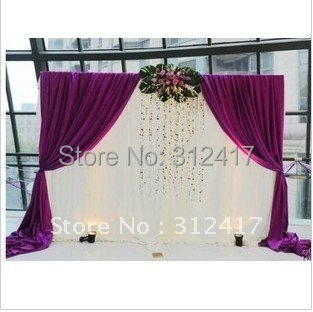 wholesale and retail lovely 10x10 reception backdrop , white and ...
