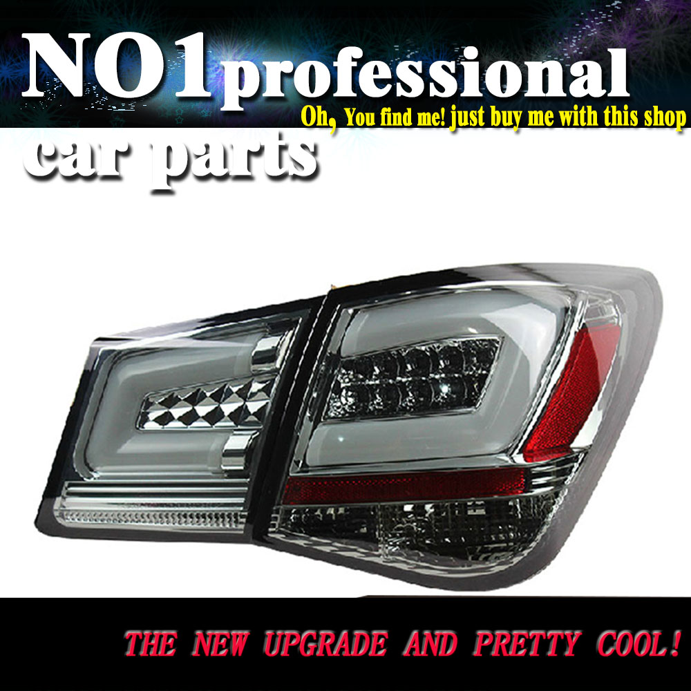 Car Styling 2009-2013 For Chevrolet Cruze Hilux  taillights  LED Tail Lights  Rear Lamp LED DRL+Brake+Park+Signal Stop Lamp car styling tail lamp for ford mondeo fusion 2013 2016 tail lights led tail light rear lamp led drl brake park signal stop lamp