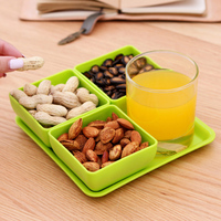Dry Fruit Snacks Candy Box Creative High Grade Fruit Box Kitchen Storage Containers Kitchen Orgainzer