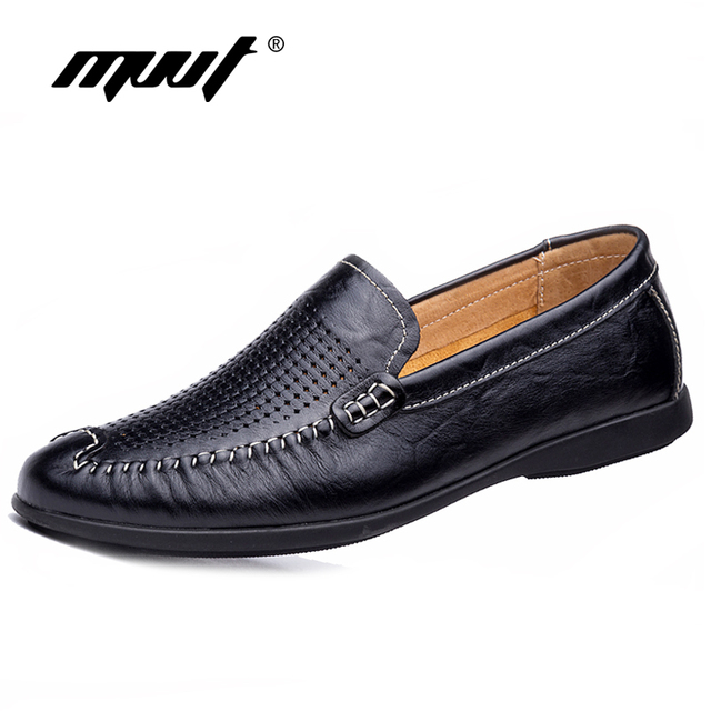 Plus Size Genuine Leather Slip-on Shoes for Men cheap sale professional sale professional discount Cheapest lowest price for sale free shipping wiki 8CJK1