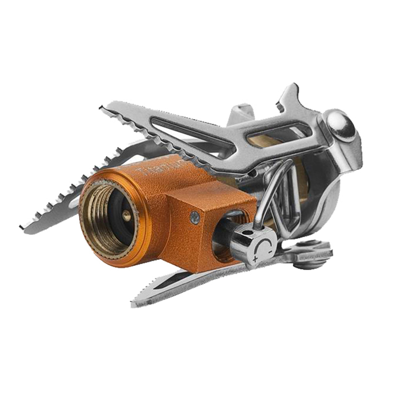 Fire-Maple 2800W Titanium Camping Stove Hornet Mini-Stove Only 41g FMS-300T fire maple fms 117t stoves titanium alloy camping cookware