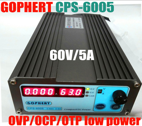 CPS6005 Mini Precision Compact Digital Adjustable Switching DC Power Supply OVP/OCP/OTP low power 60V 5A 110V-220V CPS-6005 cps 6011 60v 11a precision pfc compact digital adjustable dc power supply laboratory power supply