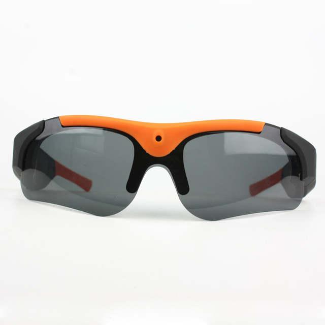 62bc7799fd7 2018 Original DV Sports Polarized Sunglasses Eyewear Video HD 1080P Camera  DVR 75 Degree Recorder Cam