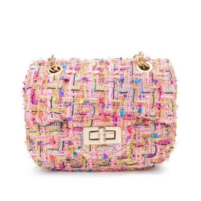 7da2fa4208e7 Girl Mini Crossbody Bag Cute Kawaii Linen Women Purse Shoulder Bags Kid  Messenger Bag Small Children