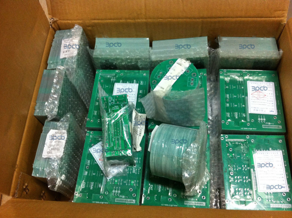 10 pcs 2 layers Double Side Protoboard  PCB Manufacture Prototype Etching Fabrication – Green L