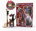 O envio gratuito de Serviço de Entrega de Kiki Hayao Miyazaki PVC Action Figure Collectible Modelo Toy para o presente de natal