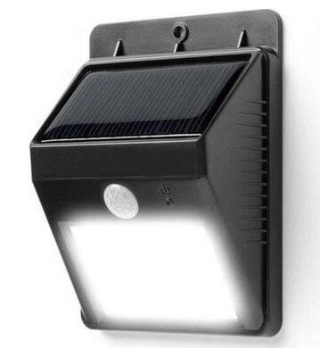6LED Zonne-energie PIR Bewegingssensor Wandlamp Outdoor Waterdichte - Buitenverlichting