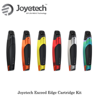 electronic cigarette Original Joyetech Exceed Edge 650mah Cartridge Pod System Starter Kit 2.0ml Cartridge EX 1.2ohm head MTL