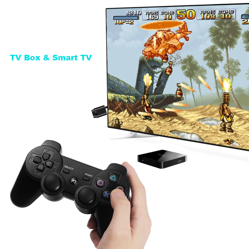 Image 2 - DATA FROG Wireless Game Gamepads for PS3/PS2 Controller Joystick for Playstation2/3 Gamepad for Windows Android Smart TV/TV Box-in Gamepads from Consumer Electronics