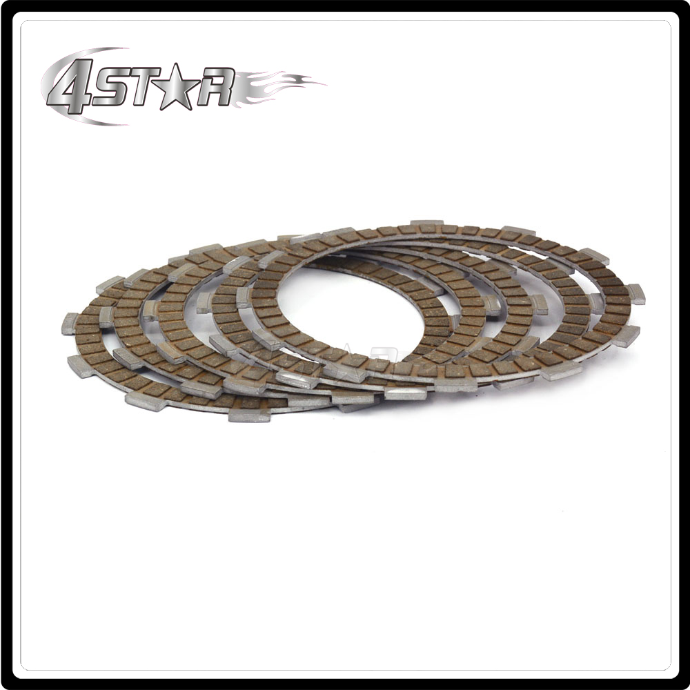 5 Pieces Engine Clutch Disc Friction Plate For ZS177MM ZONGSHEN NC250 KAYO T6 K6 BSE J5 RX3 ZS250GY-3 4 Valves Parts clutch clutch disc clutch