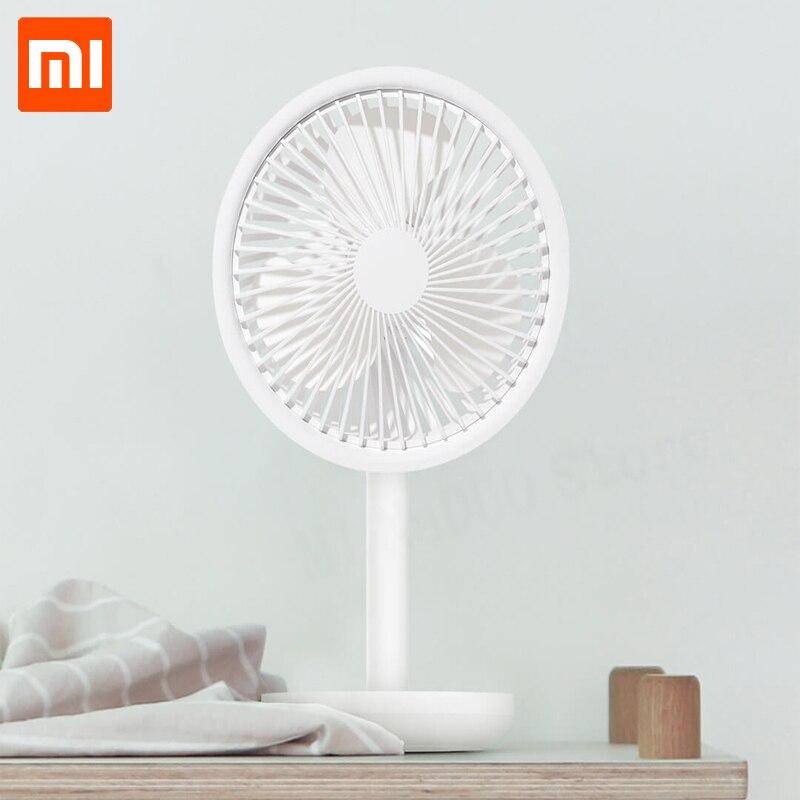 Xiaomi SOLOVE ventilateur de bureau 60 degrés secouant la hauteur de la tête, vitesse du vent réglable 4000mAh type-c lumière rechargeable ventilateur Portable maison